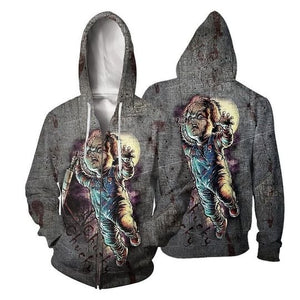 Halloween 3D All Over Print | Hoodie | Unisex | Full Size | Adult | Colorful | HT2586