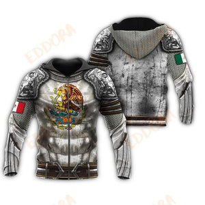 Eddora™ Mexico 3D All Over Print | Hoodie | Unisex | Full Size | Adult | Colorful | HT3364