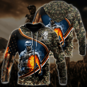 U.S Army Veteran 3D All Over Print | Hoodie | Unisex | Full Size | Adult | Colorful | HT3585
