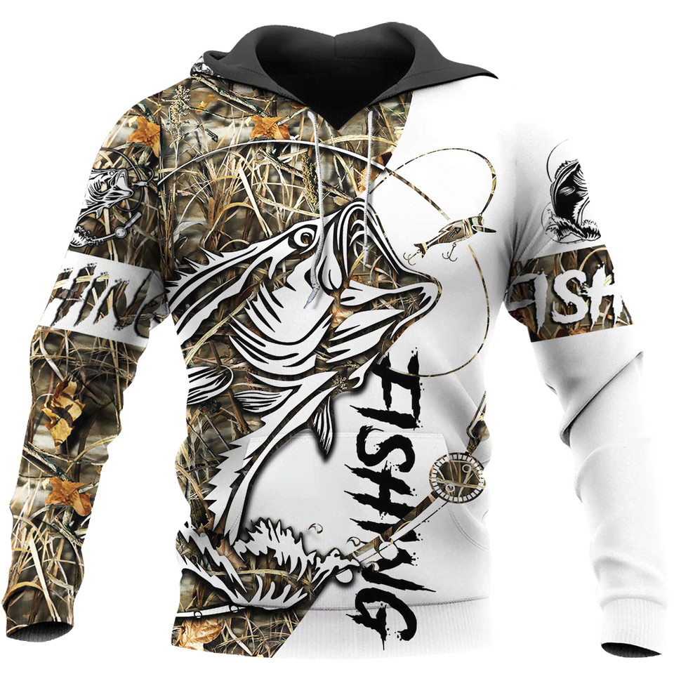 Bass Fishing 3D All Over Print | Hoodie | Unisex | Full Size | Adult | Colorful | HT2596