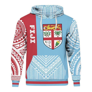 Fiji Tapa 3D All Over Print | Hoodie | Unisex | Full Size | Adult | Colorful | HT2759
