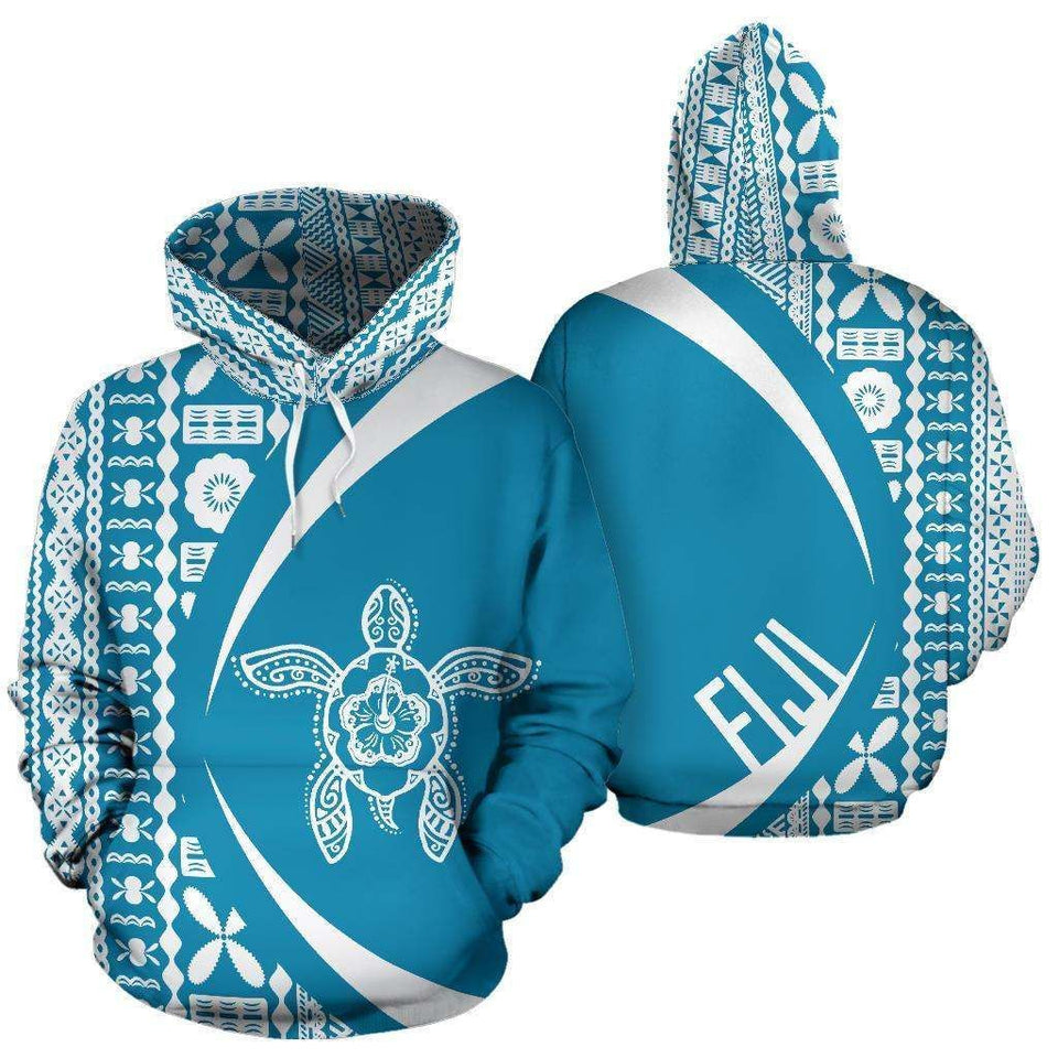 Fiji Turtle 3D All Over Print | Hoodie | Unisex | Full Size | Adult | Colorful | HT2768