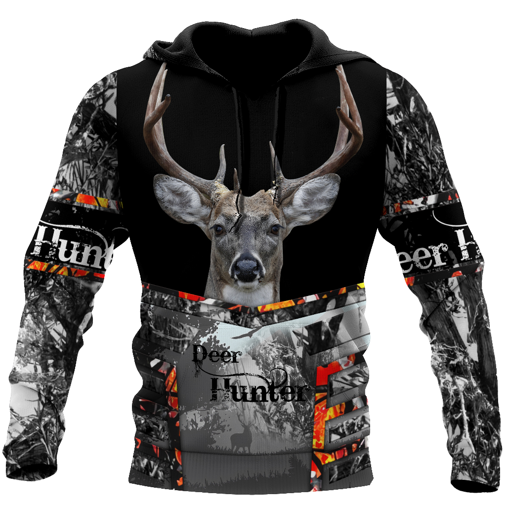 Deer Hunting 3D All Over Print | Hoodie | Unisex | Full Size | Adult | Colorful | HT3462