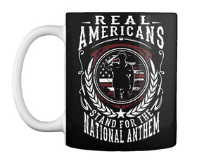 Real Americans Unisex T Shirt | Full Size | Adult | Black | K2323