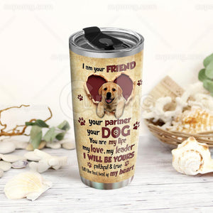 Golden Retriever Tumbler 20oz HHS49