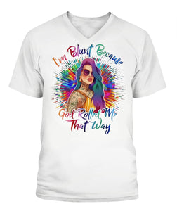 I'm Blunt Unisex T Shirt | Full Size | Adult | White | K1786