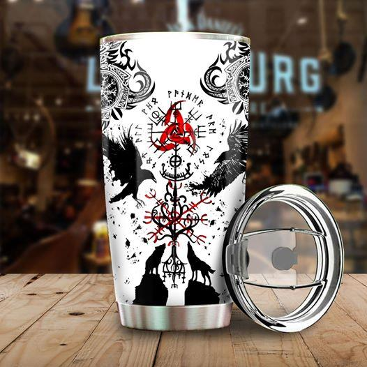 Viking Stainless Steel Tumbler Cup 20 oz | Travel Mug | Colorful | K1078