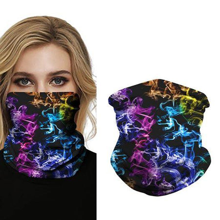 Cloud Sky Sparkle Sky Print Face Bandana Shield B1088