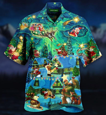 The Magical Night Hawaiian Shirt | Unisex | Full Size | Adult | Colorful | HW2076