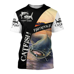 Fishaholic Catfish 3D All Over Print | Hoodie | Unisex | Full Size | Adult | Colorful | HT2535