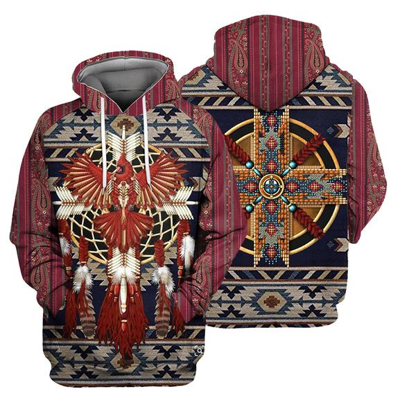 Native Pattern 3D All Over Print | Hoodie | Unisex | Full Size | Adult | Colorful | HT3181