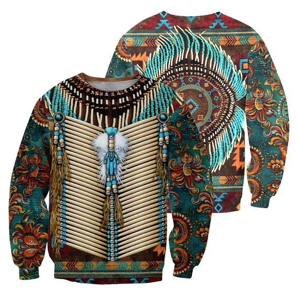 Native Pattern 3D All Over Print | Hoodie | Unisex | Full Size | Adult | Colorful | HT3177