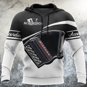 Accordion Music 3D All Over Print | Hoodie | Unisex | Full Size | Adult | Colorful | HT2657