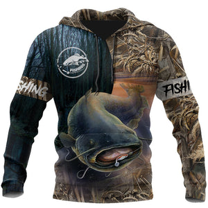 Gone Fishing 3D All Over Print | Hoodie | Unisex | Full Size | Adult | Colorful | HT2534
