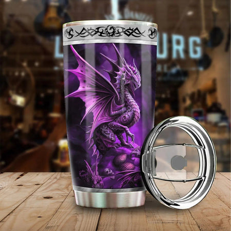 Dragon & Dungeon Tattoo Tumbler 20 Oz NMT020330