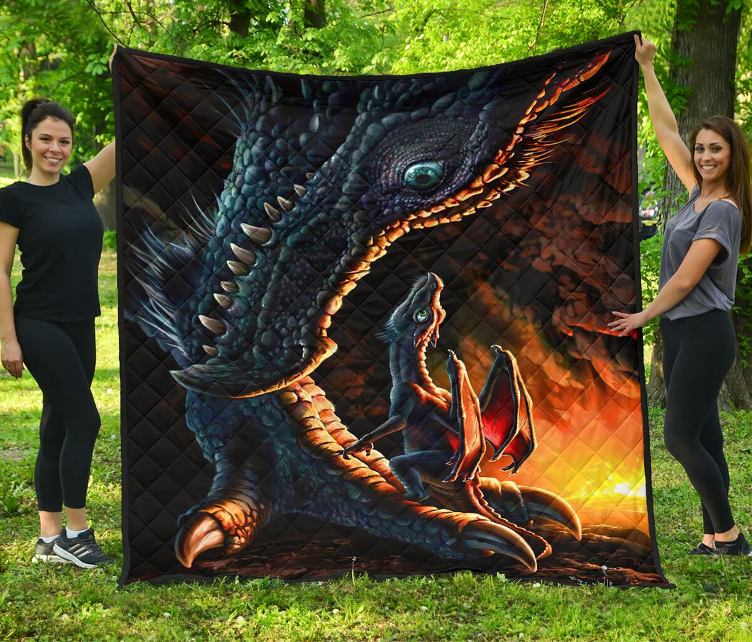Dragon Fleece Blanket | Adult 60x80 inch | Youth 45x60 inch | Colorful | BK1970