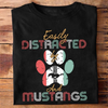 Easily Distracted Unisex T Shirt | Full Size | Adult | Black | K2761
