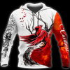 Cardinal Spririt Red Birds 3D All Over Print | Hoodie | Unisex | Full Size | Adult | Colorful | HT3516