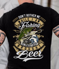 Unless You Brought Beer Fishing Unisex T Shirt | Full Size | Adult | Black | K2966