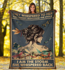 I Am The Storm Fleece Blanket | Adult 60x80 inch | Youth 45x60 inch | Colorful | BK1940