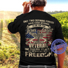 Jesus Christ And The Veteran Unisex T Shirt | Full Size | Adult | Black | K1926