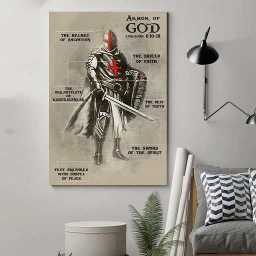 Armor Of God Edge-to-edge Printed Poster | 200 GSM Paper | 11x17 inch | 16x24 inch | 24x36 inch | Colorful | P1219