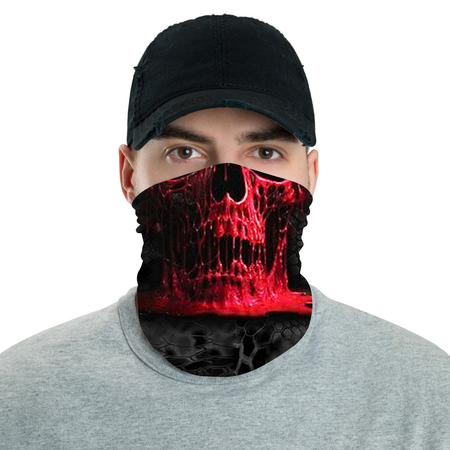 Red Skull Bandana Shield B1122