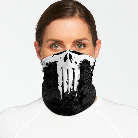 Death Skull Bandana Shield B1118