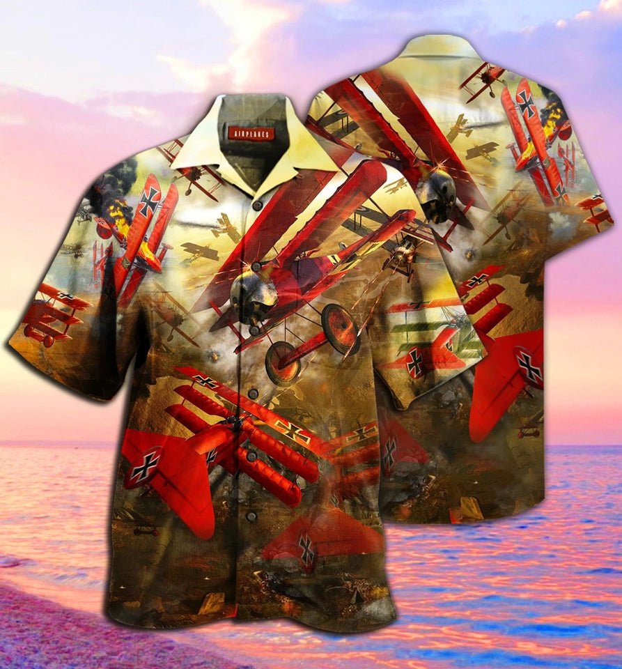 Amazing Airplanes Hawaiian Shirt | Unisex | Full Size | Adult | Colorful | HW1620