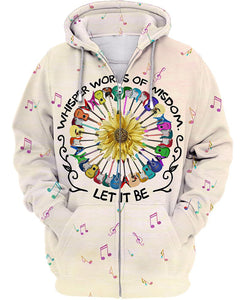 Hippie Colorful 3D All Over Print | Hoodie | Unisex | Full Size | Adult | Colorful | HT3469