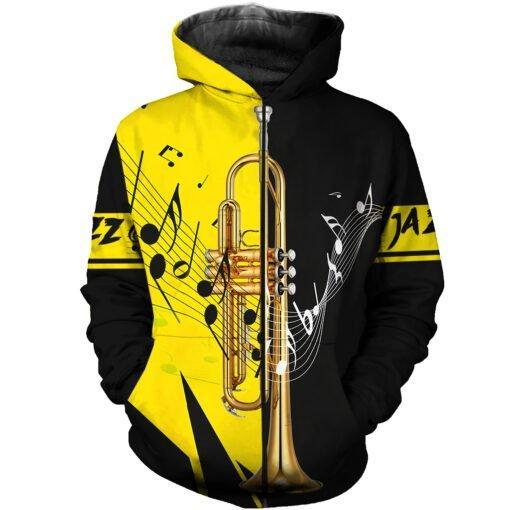 Trumpet Music 3D All Over Print | Hoodie | Unisex | Full Size | Adult | Colorful | HT2655