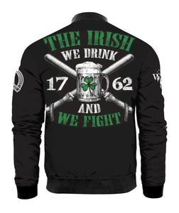 THE IRISH - WE DRINK AND WE FIGHT 3D All Over Print | Hoodie | Unisex | Full Size | Adult | Colorful | T0219