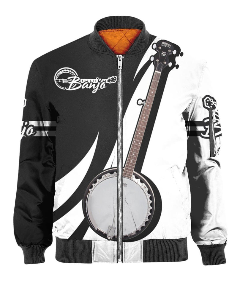 Banjo Music 3D All Over Print | Hoodie | Unisex | Full Size | Adult | Colorful | HT3300
