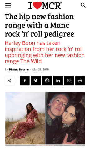 I Love Manchester article about fashion brand The Wild
