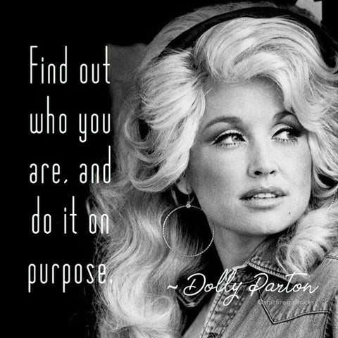 Dolly Parton inspirational quote
