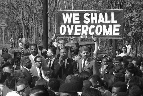 Civil Rights Movement We Shall Overcome