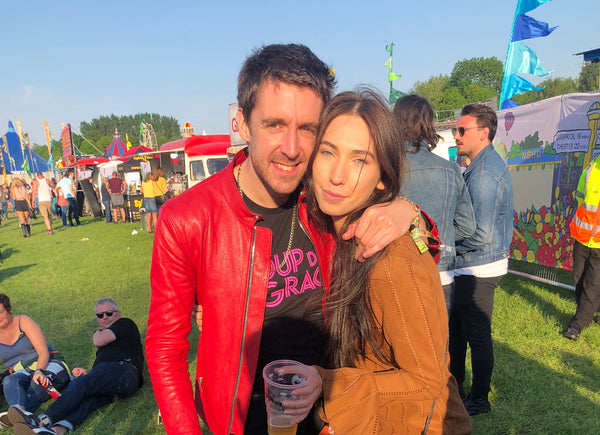 Miles Kane and Harley Boon