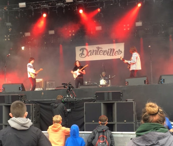 Dantevilles on the Main Stage at Kendal Calling 2017