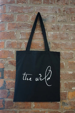 The Wild Black Tote Bag