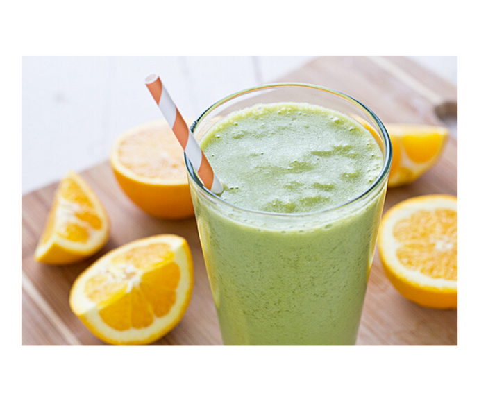 Orange Spinach Smoothie Recipe for Iron Deficiency