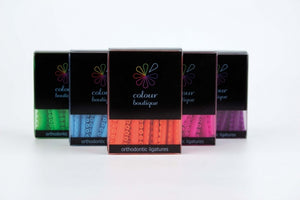 Colour Boutique Elastomeric Ligatures