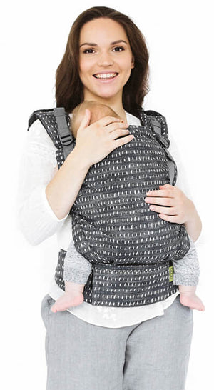 The Boba X is a Babywearing Consultant recommended baby carrier - simple, adjustable, and all the features you need. Easily adjusted to comfortably fit from newborn to toddlers. Straps can be worn crossed or back-pack style. Ergonomic front-inwards and back-carrying options.