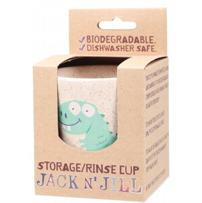 Jack N' Jill Biodegradable Storage/Rinse Cup Dino