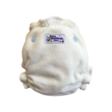 This is officially one of the best night nappies you will find! This much loved nappy is one of our best sellers globally! Designed for medium to heavy wetters this is a must have in your cloth nappy stash! Our Night Nappy was voted: 2018 Best Night Nappy - GOLD Cloth Nappy Awards.