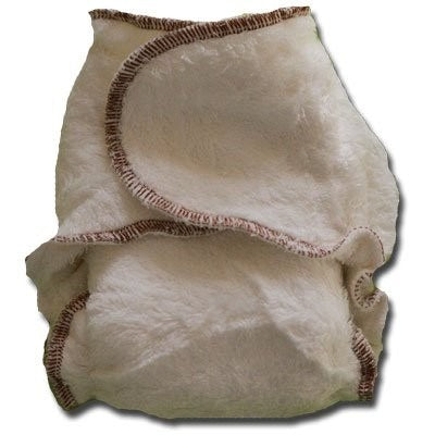 Bambams are a fitted cloth nappy specifically designed to fit every single newborn no matter how small they are! Because they are made from 2 layers of thick and lush bamboo terry, the whole nappy is not only super absorbent but because it doesn't have any snaps or velcro it moulds to fit a newborn perfectly.