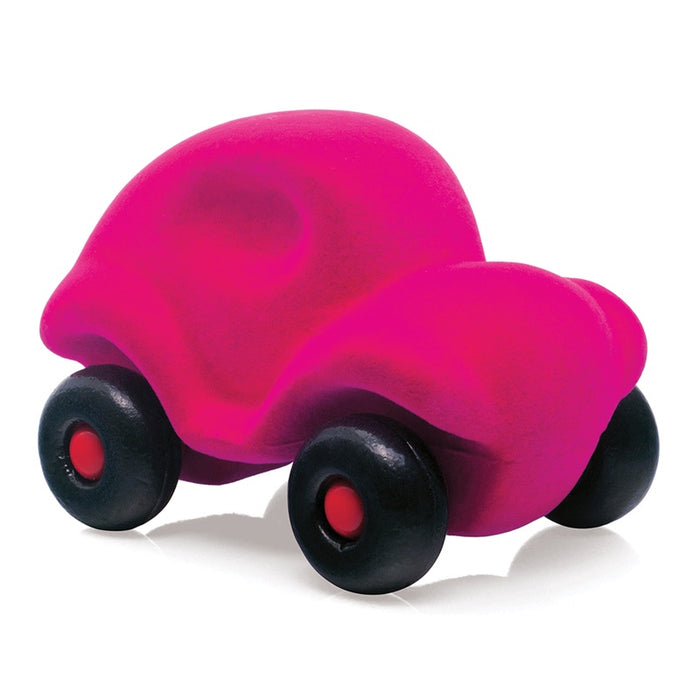 Rubbabu Little Car Pink