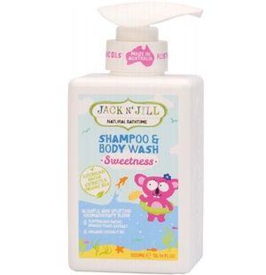 Jack N' Jill Shampoo and Body Wash  Sweetness