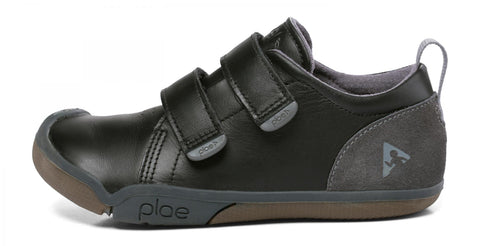 Plae Roan School Shoe Black