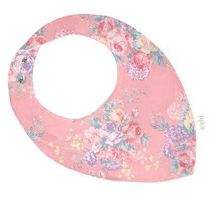 The versatile Toshi Bandana is a cute designer accessory and practical baby bib. Press studs create adjustable sizing for growing babies and the bib has padding on the reverse for moisture protection. Composition: Outer 100% Cotton Inner 100% Cotton Fleece