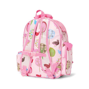 Send kids off to daycare, kinder or school in style with a Penny Scallan Design Backpack. Penny Scallan Backpacks are made from 100% coated cotton canvas, which is water resistant and scratchproof. They come with a zippered side pocket and a drawstring drink bottle holder, along with adjustable shoulder straps.